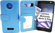 Plånboksfodral Lenovo Motorola Moto Z Play (Ljusblå)