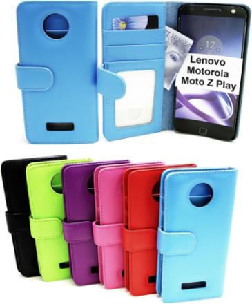 Plånboksfodral Lenovo Motorola Moto Z Play (Svart)
