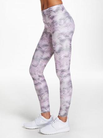 Flattering AOP tights (Färg: Rosa /Cherry Blossom, Storlek: XL)