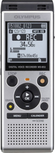 Olympus WS-852, 4GB, silver, incl batteries