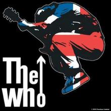 The Who: Single Cork Coaster/Townshend Leap