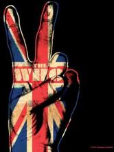 The Who: Single Cork Coaster/Peace Fingers