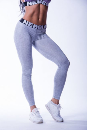Scrunch butt leggings 222, light grey