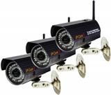 3st Trådlösa Megapixel IP kameror för utomhusbruk