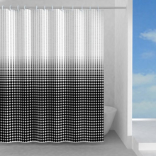 Hefe Illusion duschdraperi 120 x 200 cm