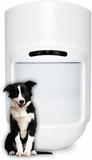 Antennlös husdjursanpassad rörelsedetektor för trå