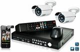 DVK3 - 1000GB Kamerasystem med H.264 DVR och 2st C