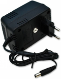 DC12V Transformator (AC/DC adapter) med batteribac