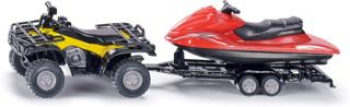 Siku Fyrhjuling med Jet-Ski 2314 - 1:50