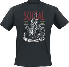 Social Distortion - Social Distancing -T-skjorte - svart