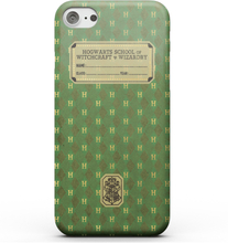 Harry Potter Slytherin Text Book Smartphone Hülle für iPhone und Android - iPhone 7 - Snap Hülle Matt