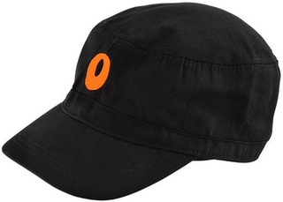 Orange Orange Cadet Hat O Motiv