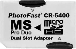 MicroSD till Memory Stick PRO Dual adapter