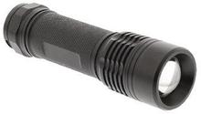 König LED-Ficklampa 180 lm Svart