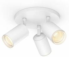 Philips Hue - Fugato 3-Spot White - White & Color Ambiance - Bluetooth