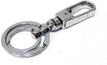 Dubbla Nyckelringar / Nyckelknippor Med Karbinhake