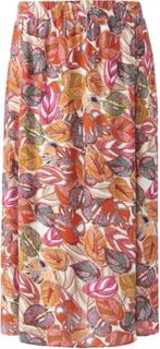 Kjol i midilängd från Emilia Lay mångfärgad