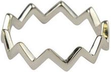 Strict plain zigzag ring