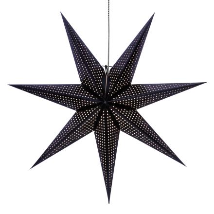 Huss joulutähti 100 cm musta