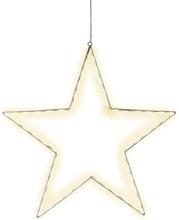 Julstjärna Siluett Lumiwall 50cm