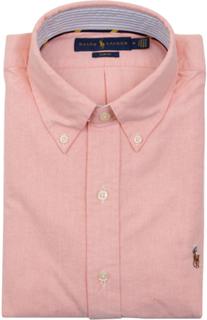 POLO RALPH LAUREN - Slim Fit Long Sleeve Sport Shirt Rosa