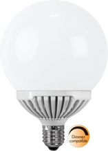 LED-lampa E27 G120 Opaque