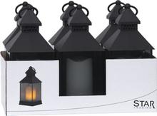 Ljuslykta Flame Lantern 6-Pack 25cm IP44