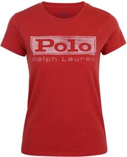 POLO RALPH LAUREN - Short Sleeve Polo Tee Röd