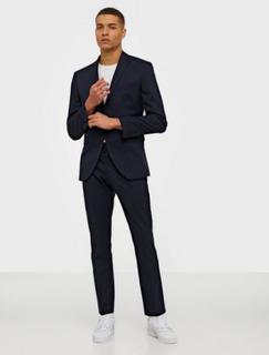Selected Homme Slhslim-Mylologan Navy Blazere & jakkesæt