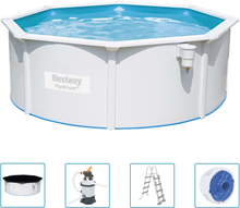 Bestway Hydrium fritstående pool 360x120 cm rund