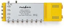 Nedis Multiswitch | 5 till 8 | F-kontakt | Markbundet: 47 - 862 MHz | Satellit: 950 - 2 150 MHz
