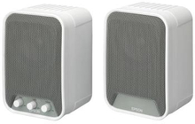 Epson ELP-SP02 - Active speakers, 2x15W, Auto on/off, Wallmount included, Sold in pair