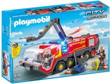 - City Action - Flygplatsbrandbil med ljus och ljud.