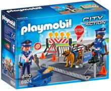 - City Action - Polisvägspärr