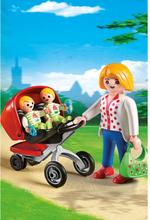 - City Life - Mamma med tvillingvagn
