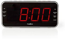 Nedis Digital klockradio | 1.8-tums LED | FM