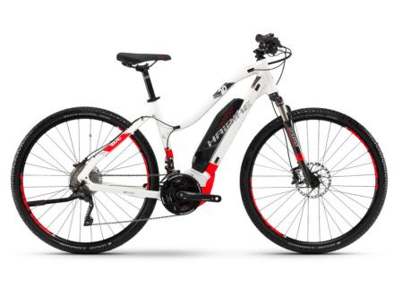 """HAIBIKE SDURO Cross 6.0 Naiset sähköavusteinen hybridi-pyörä , valkoinen 40cm (28"""") 2018 Sähköpyörät"""