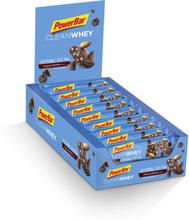 PowerBar Clean Whey Bar Box 18x45g Chocolate Brownie 2020 Näringstillskott & Paket