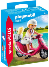 Special PLUS - Strandgångare med scooter