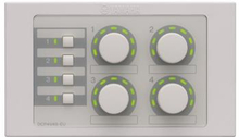 Yamaha DCP4V4S-EU, Digital Control Panel for MTX-series/ MA-series. 4 Volume & 4 Input Switches