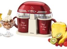 Ariete Vintage / Ice Cream maker / Röd