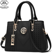 Embroidery Messenger Bags Women Leather Handbags Bags for Women 2019 Sac a Main Ladies Hand Bag