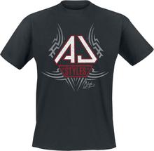 WWE - AJ Styles -T-skjorte - svart