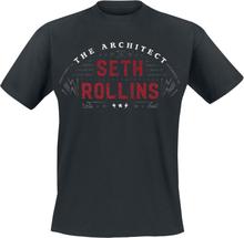 WWE - Seth Rollins - The Architect -T-skjorte - svart