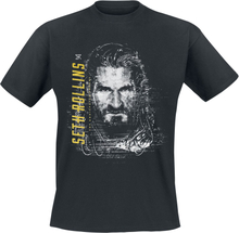 WWE - Seth Rollins -T-skjorte - svart