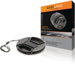 Camlink Objektivlock / Linsskydd 52 mm