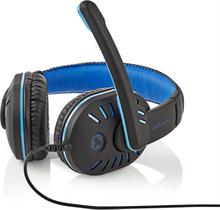 Nedis Gamingheadset - Over-ear, Mikrofoni