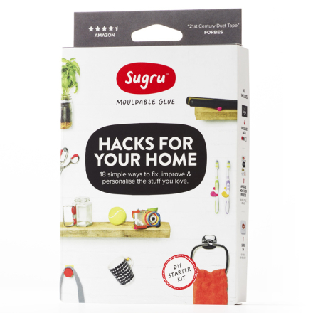 Sugru-korjausmassa ? Hacks for your Home Kit