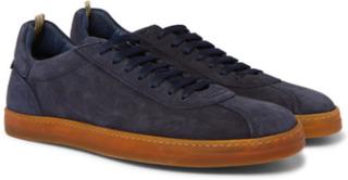 Karma Suede Sneakers - Navy