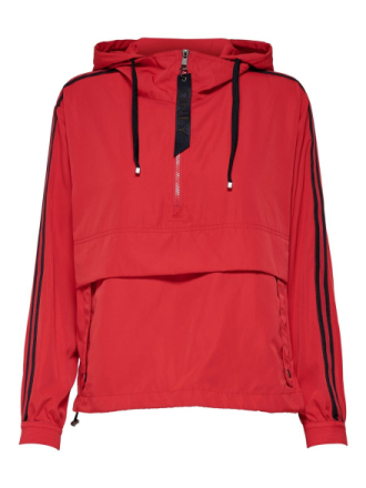 ONLY Loose Anorak Women Red